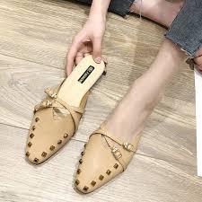 【BiGi】Muller <b>shoes</b> female <b>summer</b> Korean version of chic net red ...