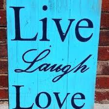 live love laugh wall decor wood rustic wood sign live laugh love sign rustic home decor