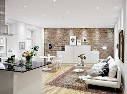 the brick living room furniture. Brick Living Room Wall Decoration White Furniture Wood On The Best Red L