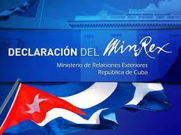 Resultado de imagen para Bruno Rodríguez: Cuba jamás ha perpetrado ataques contra diplomáticos