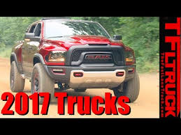 Top 7 Brand New Pickup Trucks for 2017: Counted Down - YouTube