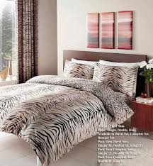 tiger brown bedding set