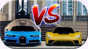I did the most requested car battle in driving empire which is the hennessey venom gt vs bugatti veyron. Hennessey Venom F5 Vs Bugatti Chiron Movie Fastest Cars In The World Comparison Youtube