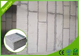hotel insulated partition wall panels fireproof internal eps exterior concrete sandwich panel