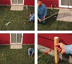 diy concrete patio how to pour a slab
