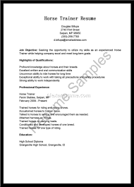 Trainer Resume Sample Assistantse Trainer Resume Sample Templates Training Samples 80