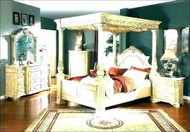 Canopy King Size Bed Frame Cheap Wooden Beds Canopy King Size Bed ...
