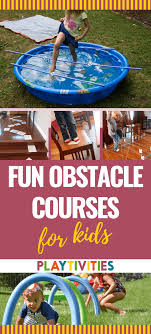 low prep obstacle courses for kids