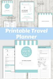 Personal Vacation Planner Printable Travel Planner Vacation Planner A5 Personal