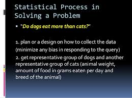 statistics and probability lesson  statistical process in solving