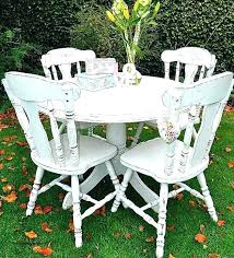 shabby chic dining room sets shabby chic round dining table and chairs best of top room
