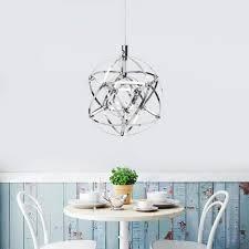 modern dandelion led chandelier firework crystal pendant lamp