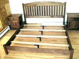 queen bed frame slats wood