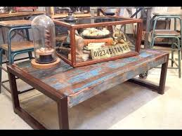 Marvelous Reclaimed Wood Coffee Table | Reclaimed Barn Wood Coffee Table