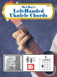 Left Handed Ukulele Chord Chart Pdf Left Handed Ukulele Chords By Mel Bay Book Sheet Music For