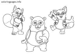 Small Picture AGENT OSO Coloring Pages PDF Free coloring pages