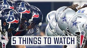 Texans take on the Cowboys in Dallas ...