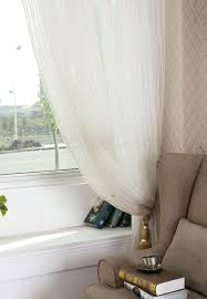 High Grade Gordijnen Voor De Woonkamer Gold Stripes Window