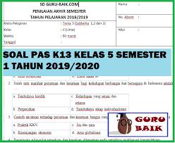We did not find results for: Soal Uas Kelas 5 Semester 1 Kurikulum 2013 Revisi 2017 Dan Kunci Jawaban