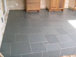 Slate Kitchen Floor Tiles Grey Cabinets With Slate Tile Bathroom Black Countertop Slate