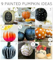 Small Pumpkin Painting Weekend Inspiration Full On Fall And Pumpkin Time Plus Favorite