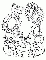 Printable Spring Coloring Pages Kindergarten Printable Coloring