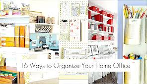 organizing your office. Organizing Home Office Ways To Organize Your Paper Clutter