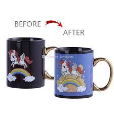 cute mugs online. Modren Cute Cartoon Unicorn Mug Ceramic Coffee Cup Creative Cute Color Changing Magic  Water Cups Mugs For Sale Online From Jcwatches  Inside