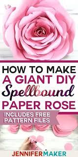 Paper Flower Cricut Template Paper Flower Template Free Download Format Giant Cricut