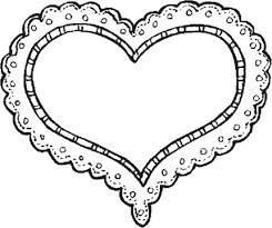 Coloring Pages Freeintable Heart Coloring Pages For Kids And