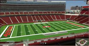 San Francisco 49ers Seating Chart 3d How To Buy Suites Levis Stadium 49ers Concerts More