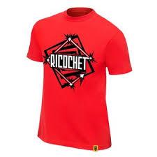 Bachnx2603 Wwe Ricochet Nxt T Shirt Red Small Swaggshirt