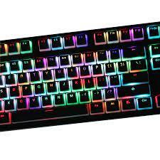 108 tuşları/set PBT puding arkadan aydınlatmalı klavye tuş mekanik klavye  anahtar kapaklar için Filco Ikbc ördek Noppoo Varmilo OEM profil|Mice &  Keyboards Accessories