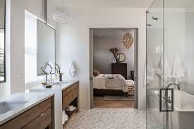 theaters in boise idaho transitional bathroom also double doors double vanity hanging mirrors open cabinet storage white countertop