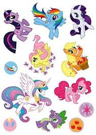 Details About My Little Pony Sticker Set Decal Graphic Wall Decor Art Pinkie Pie