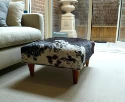 cowhide ottoman ikea coffee table cube designs