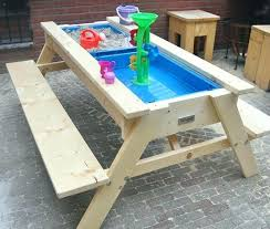 diy kids table kids table outstanding best picnic table ideas on kids picnic intended for picnic table for kitchen cabinets for