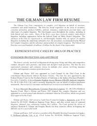 personal injury paralegal resume sample com sample securities lawyer resume representative cases by area of practice