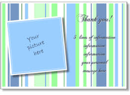 Personalized Thank You Card Print A Thank You Greeting