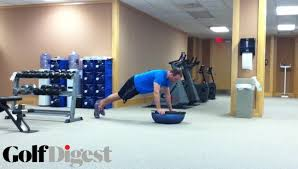 ility exercise using a bosu ball golf digest