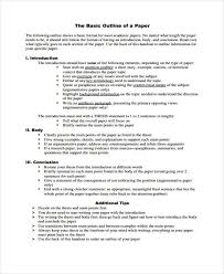argumentative essay outline format you can see an example essay  paper outline basic format argumentative essay outline format