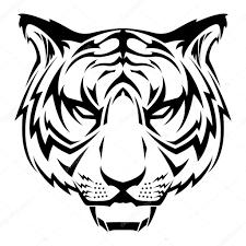 вектор тигр векторный тигр слышал векторное изображение