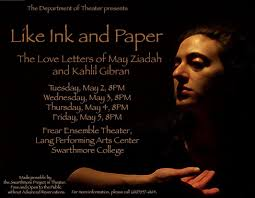 Like Ink And Paper The Love Letters Of May Ziadah And Kahlil Gibran