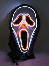 [30% OFF] <b>Halloween Cosplay Ghost Pattern</b> Full Face Horror ...