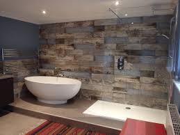 bathroom reclaimed wood tiles