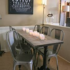 distressed metal furniture. Awesome Distressed Metal Dining Chair On Modern Design With Additional 40 Furniture