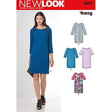 New Look Patterns Best New Look Patterns Misses' Easy To Sew Shift Dress Size A 484848
