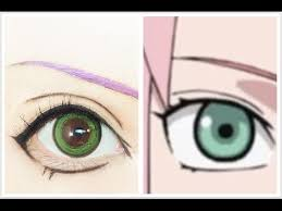haruno sakura tutorial anime eye makeup 203