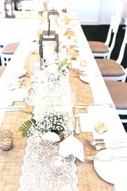 round table runners long table runners table runner for round tables burlap table runners for inch