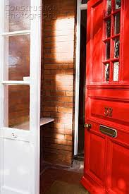 open front door. Open Red Front Door Open I